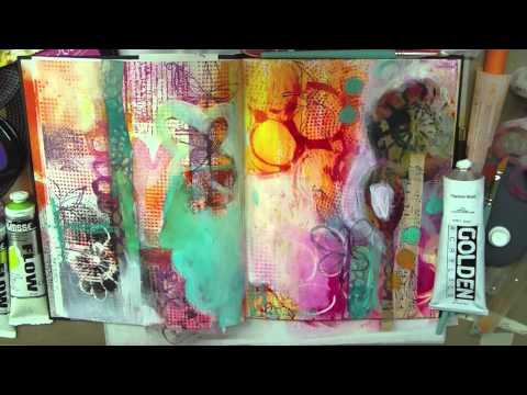 art journal + mixed media PLAY by traci bautista