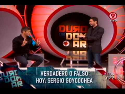 Duro de Domar - Verdadero / Falso: Sergio Goycochea 08-04-11