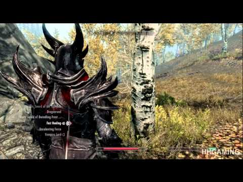Skyrim Dawnguard - walkthrough part 5 HD gameplay dlc add on expansion - Vampire lord