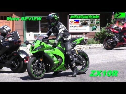 Kawasaki NINJA ZX10R w/ Yoshimura exhaust - Canyon Ride & my REVIEW
