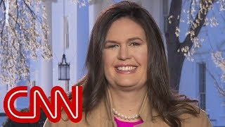 Sarah Sanders: This is a good thing for America - CNN