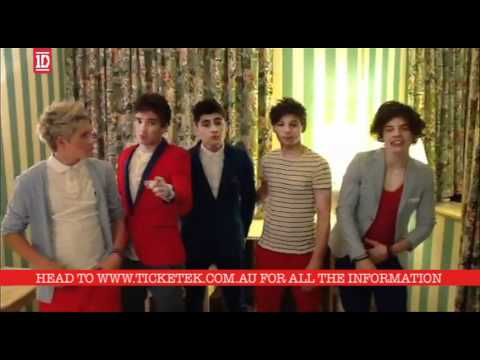 One Direction - Announce First Australian Tour