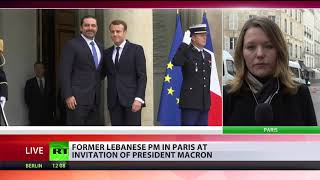 Lebanon's Hariri arrives in Paris for talks with Macron - RUSSIATODAY