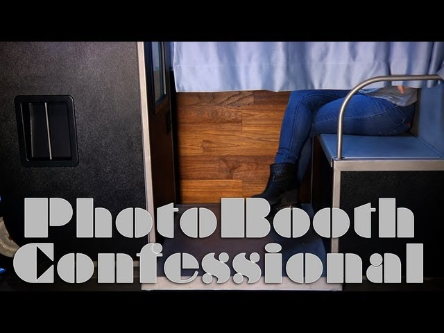 Photobooth Confessional