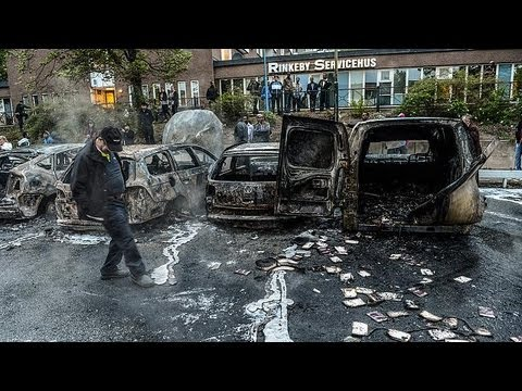 Stockholm riots provoke questions about Sweden