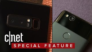 Galaxy Note 8 vs. Google Pixel 2 XL camera showdown - CNETTV