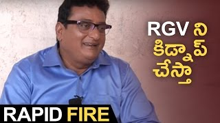 Rapid Fire With Comedian Prudhviraj | Hilarious Answers | TFPC - TFPC