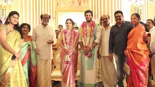 Rajinikanth's Daughter Soundarya Wedding Photos | Soundarya Marriage - RAJSHRITELUGU
