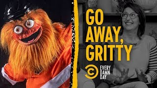 Gritty: The Flyers' Mascot Nobody's Been Waiting For - COMEDYCENTRAL