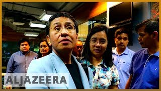 🇵🇭 Philippines: Rappler journalist Maria Ressa arrested for libel | Al Jazera English - ALJAZEERAENGLISH