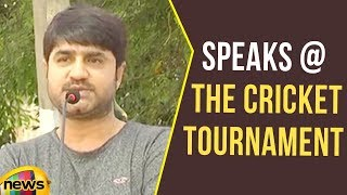 Actor Srikanth speaks at the Cricket Tournament of West zone Police | Mango News - MANGONEWS