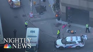 At Least 9 Dead, 16 Injured In Toronto After Van Strikes Pedestrians   NBC Nightly News - NBCNEWS