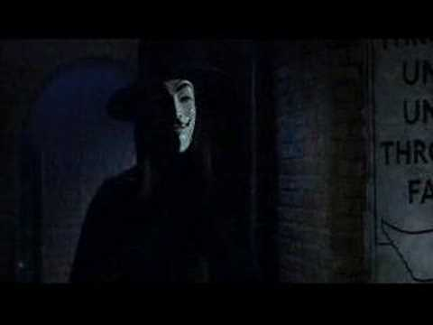V for Vendetta - V's introduction to Evey [CC]