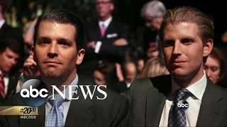 Eric Trump, Donald Trump Jr. on Pressure of Running Their Company: Part 2 - ABCNEWS
