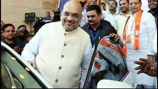 Amit Shah reviews the preparations before PM Modi's nomination in Varanasi - ZEENEWS