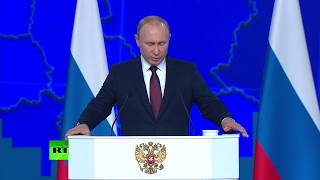 Putin: If US deploys mid-range missiles in Europe, Russia will be forced to respond - RUSSIATODAY
