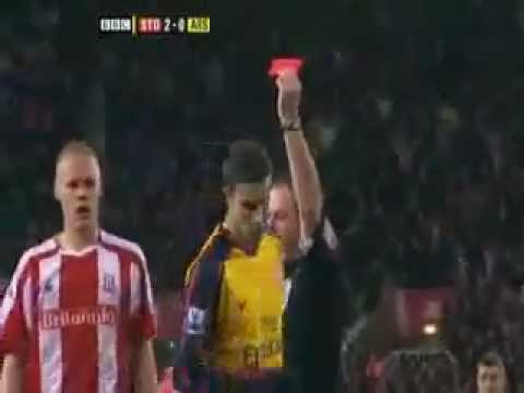 The Most deserving Red Card ever
