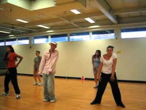 Hip-Hop Choreography to Troy Cash, My my my 24 Hour Fitness 2003 with Tari Mannello