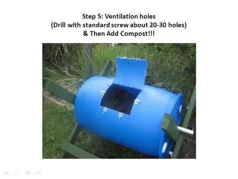 HOW TO... MAKE A COMPOST BIN