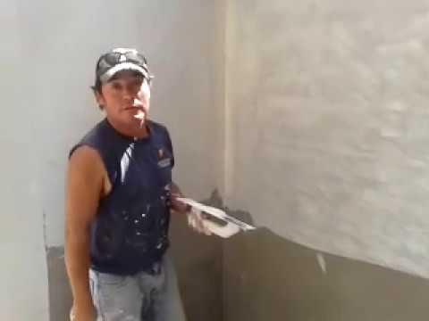 como empastar una pared