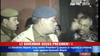 Criminal case against ex-Delhi Law Minister Somnath Bharti? - TIMESNOWONLINE