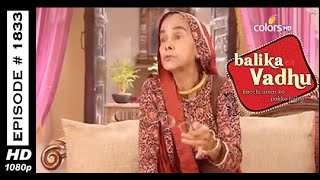 Balika Vadhu : Episode 1825 - 4th March 2015