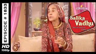 Balika Vadhu : Episode 1825 - 4th March 2015