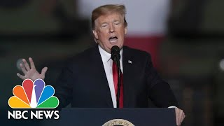 President Donald Trump: 'I Never Got A Thank You' For Late Senator John McCain Funeral | NBC News - NBCNEWS