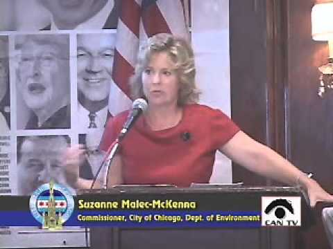 Suzanne Malec-McKenna, Commissioner, City of Chicago, Department of Environment