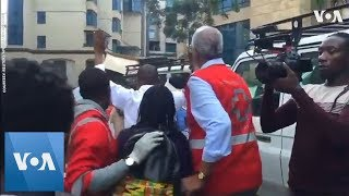 Eyewitness Video Captures Dramatic Evacuation Following Nairobi Attack - VOAVIDEO