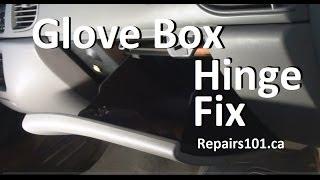 mqdefault glove box hinge fix youtube  at bayanpartner.co