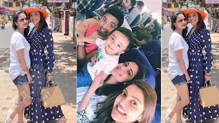 Actres Kajal Aggarwal Family Enjoying Vacation In Goa | Kajal Family Images | Nisha Aggarwal - RAJSHRITELUGU