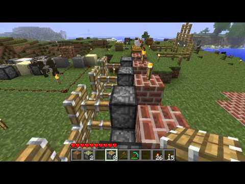 Pistons in Minecraft beta 1.7 - Work in progress