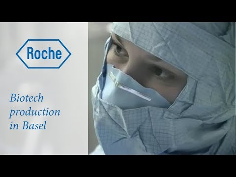 Biotech Production at Roche in Basel