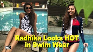 Radhika Apte Looks HOT in Swim Wear - IANSLIVE