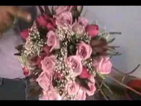 Buquê de Noiva Espiral-How to Make a Bouquet for the Bride