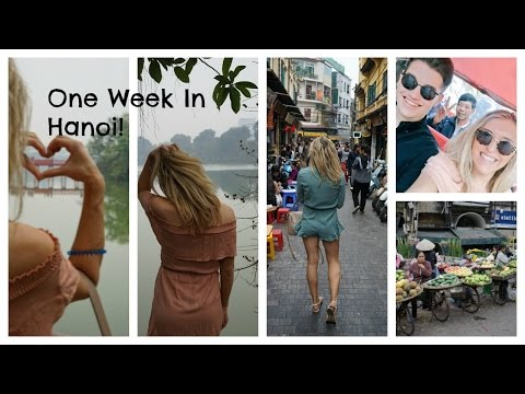 Hanoi Vietnam Travel Vlog