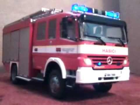 Model hasičského auta