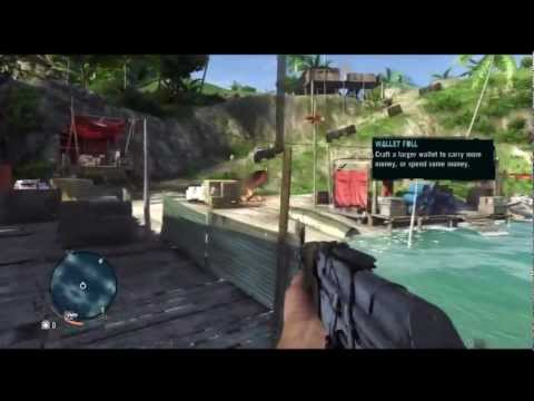 Far Cry 3 Gameplay - Free Roaming the islands with commentary