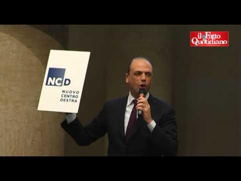 Ncd, Alfano presenta il logo ma il video di presentazione si blocca!