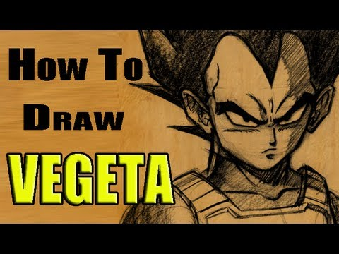 How To Draw Vegeta (and Drawing Contest)