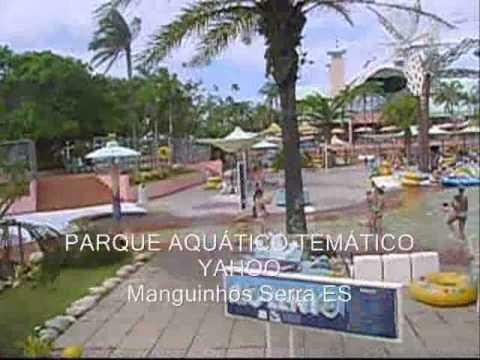 As atrações do Yahoo, Parque aquático de Manguinhos, Cidade da Serra, ES. Verão e Férias.