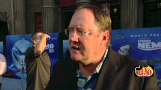 Finding Nemo in 3D Premiere and Interviews - YouTube