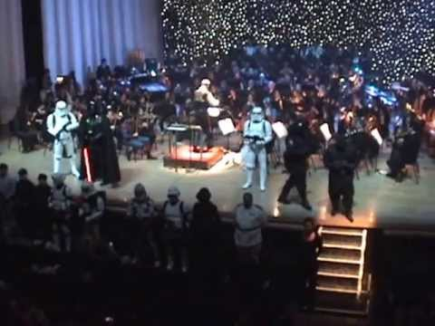 Evansville Philharmonic Orchestra & 501st & Rebel Legion Imperial March
