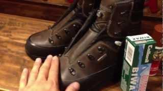 登山靴 手入れ  ローバー チベット  LOWA TIBET PRO  WAX塗り