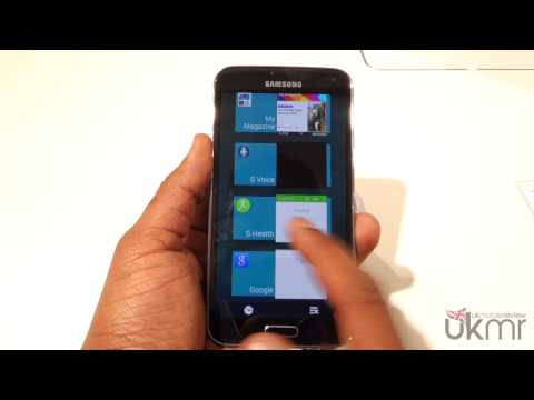 Samsung Galaxy S5 S Health In-depth Review at MWC