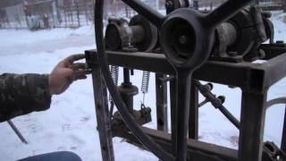 Самодельный Трубогиб профильной трубы, трубогиб своими руками, Homemade simple square tubing bender