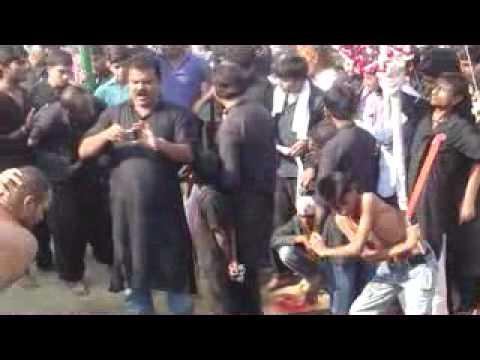 Zanjeer Matam (Hata) 10 Moharram 1433 Hijri 2011-12 Haswa Fatehpur