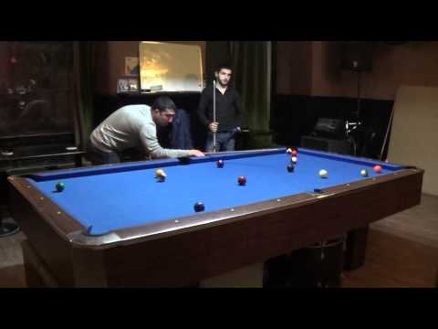 Azhdar vs Rufat Practice (8 ball Run Out!!!)