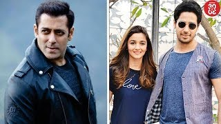 Salman Turns Lyricist For 'Race 3' | Sidharth's Shocking Reaction On His Relationship With Alia - ZOOMDEKHO